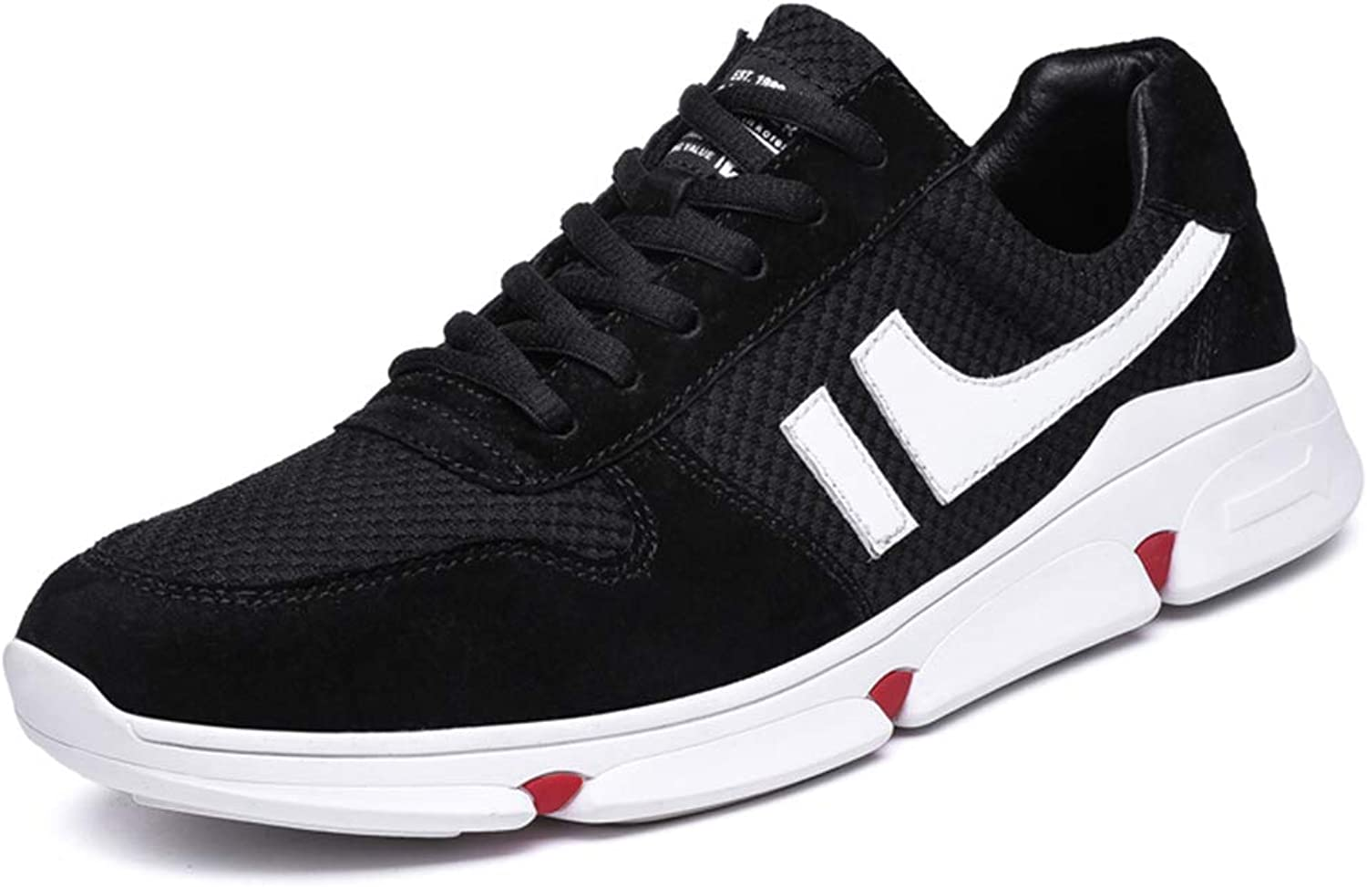 HDWY Sports And Leisure Trend Youth Students Hundred Ride The British Casual Sports Small White shoes Men's shoes Breathable