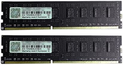 G.Skill 8GB DDR3 PC3-10600 1333MHz CL9 NT Series Desktop dual channel memory kit (2x4GB)