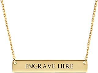 Best personalized engraved necklace Reviews