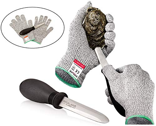 Our #5 Pick is the Rockland Guard Oyster Shucking Set