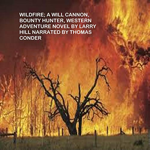 Wildfire: A Will Cannon, Bounty Hunter, Western Adventure Novel audiobook cover art