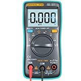 URXTRAL 6000 Counts Multímetro digital de rango automático TRMS Multi Tester con luz de fondo Medir Temperatura AC/DC/OHM/Hz/Temp/Ciclo de trabajo/Probador de continuidad