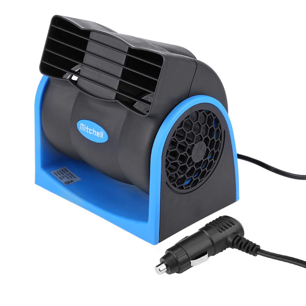 Qiilu Car 12V Electric Cooling Mini Circul Auto Air Fan Brand Cheap Sale SEAL limited product Venue