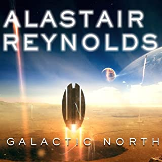 Galactic North audiobook cover art