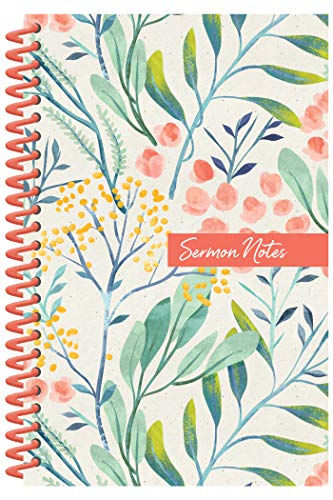 Sermon Notes Journal [Floral]