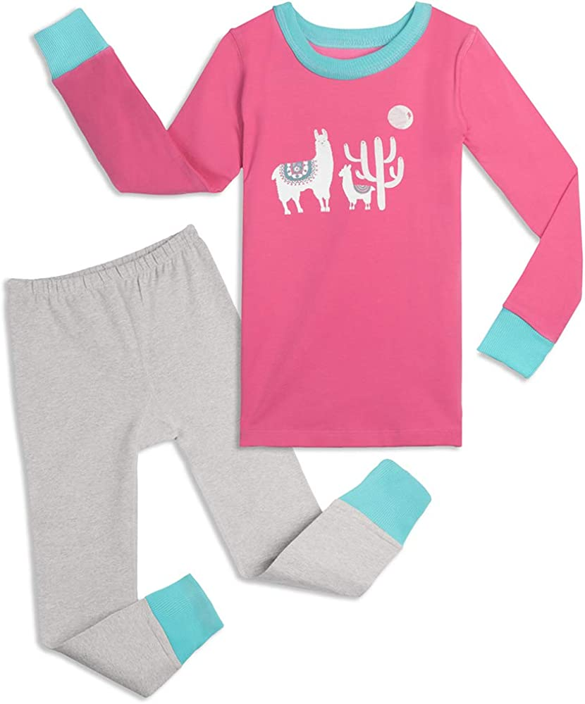 Mightly Girls' Pajamas   Organic Cotton Fair Trade Certified Footless PJs for Toddlers and Kids