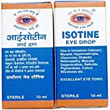 Isotine eye drop pack of 2 * 10 my by Dr. M. S. Basu's