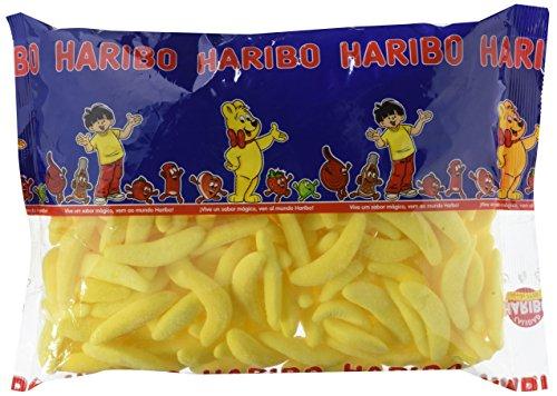Haribo Plátano Espuma Caramelos - 250 Piezas