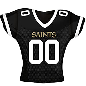 """Anagram International New Orleans Saints Jersey Party Balloon, 24"""", Multicolor"""