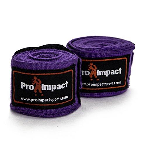 guanti fitboxe PRO IMPACT Boxing/MMA Handwraps elastico stile messicano 457
