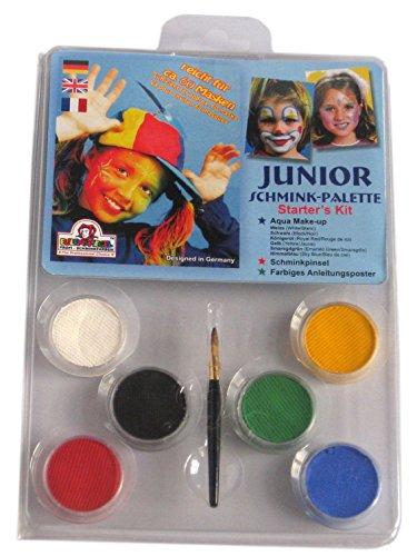 Eulenspiegel Design-a-Face Peinture de Visage Lot – Junior
