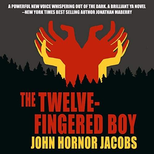 The Twelve-Fingered Boy audiobook cover art