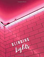 Blinding Lights: Notebook, College Ruled, Lined Notebook, Diary, Draft (120 Pages, 8.5 x 11 inch )