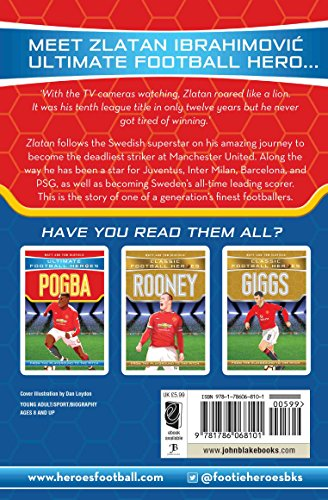 Zlatan (Ultimate Football Heroes) - Collect Them All!: Manchester United
