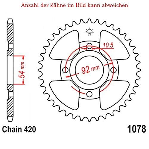 Kettenrad mit 60 Zähnen für TZR 50 2007-2016 von jt-Sprockets