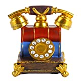 perfk Caja de Almacenamiento de Ahorro de Monedas de Hucha con Forma de Teléfono, Decoración del Hogar, Regalo para Niños