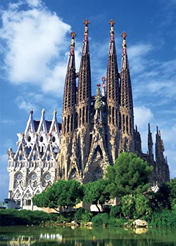 1000 compact piece Sagrada Familia (Gaudi's work group) 12-48 (japan import)