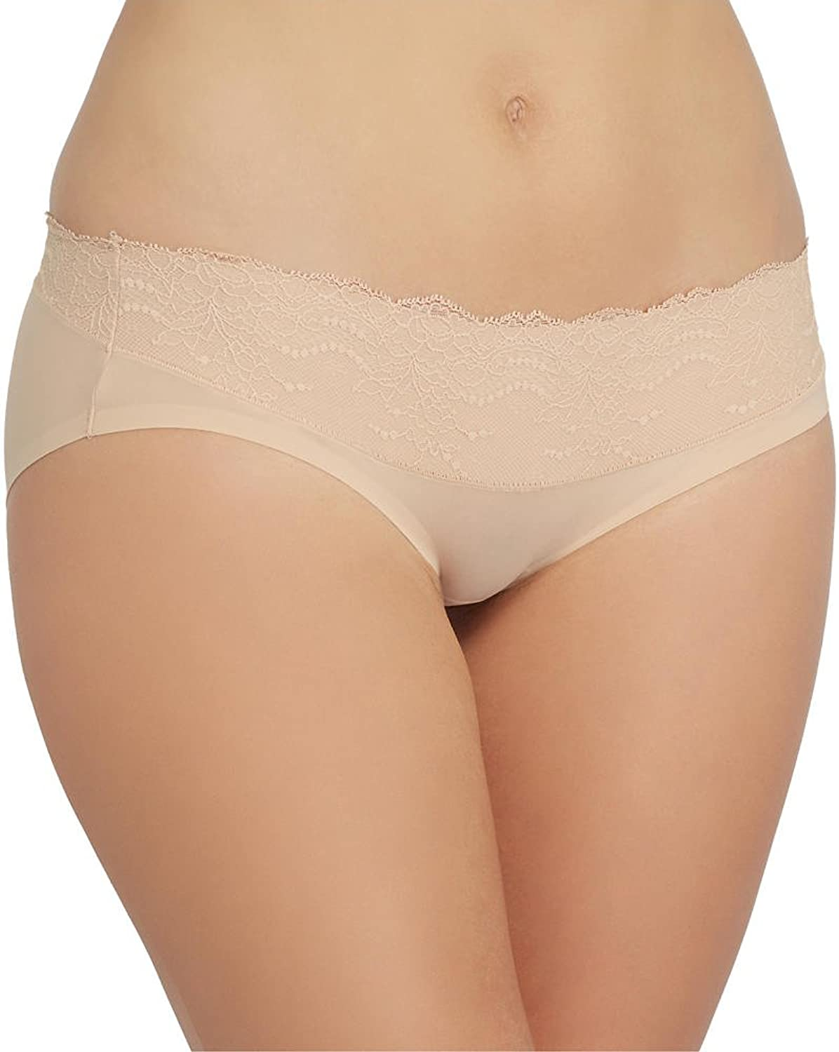 SPANX Womens Lace Waist Hipster