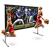 Elite Screens Yard Master 2, 120 inch Outdoor Projector Screen with...
