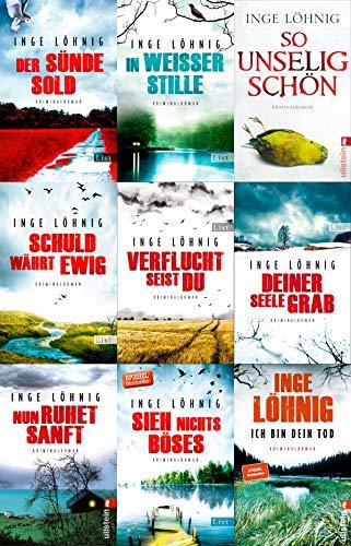 Kommissar-Dühnfort-Reihe Band 1-9 plus 1 exklusives Postkartenset