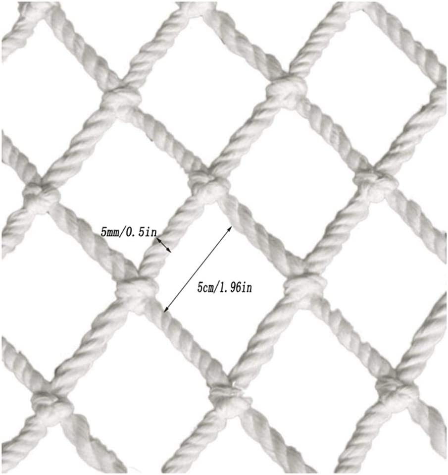 Size : 1 * 1m WNSW Child Protection Net Safety Net Rope Net Anti Fall Net Childrens Shatter Resistant Safety Net Netting Heavy Duty Pond Child Safety Pool Protector Horse Feeder