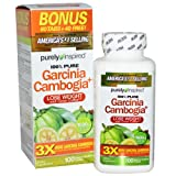 Purely Inspired 100% Pure Garcinia Cambogia Extract with HCA, Extra Strength, Weight Loss, 100 count Veggie Tablets (packaging may vary)