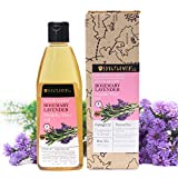 Soulflower And Natural Rosemary Lavender Healthy Hair Oil For Unisex, 225Ml