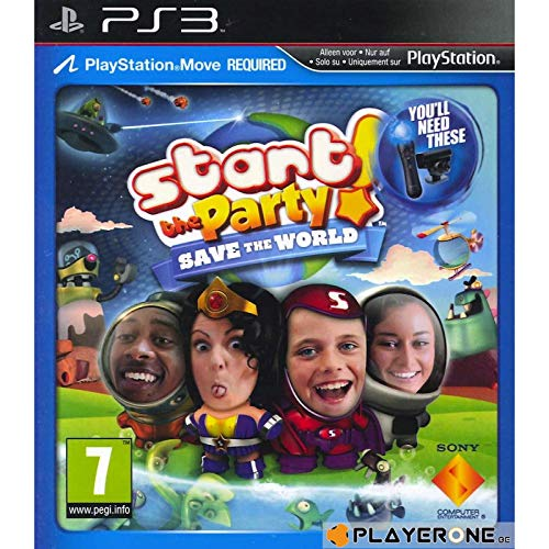 Sony Start the Party! Save the World, PS3