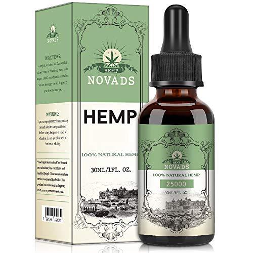 Natur Öl Tropfen, Rein natürliche Zutaten, Reich an Omega 3-6-9, 100% Vegan & Frei Von Zusätzen (30ml 25000)