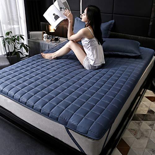 Yangdan - Imbottitura per dormitorio e dormitorio per studenti, in spugna (colore: blu, dimensioni: 120 x 200 cm)