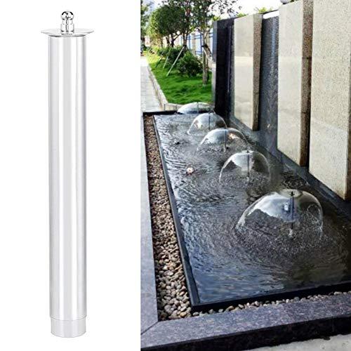 Alinory Edelstahl Brunnen Sprühkopf, Brunnen Armatur, Garten Brunnen Park für Landschaft(#2)
