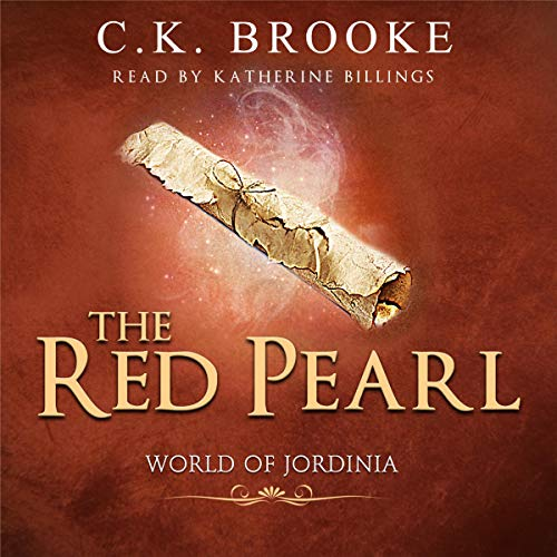 Couverture de The Red Pearl: A Fantasy Adventure Romance Novel
