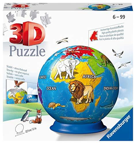 Ravensburger 3D Puzzle 11840 - Kindererde - 72 Teile: Erlebe Puzzeln in der 3. Dimension