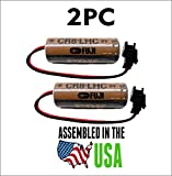 2PC Fuji CR8-LHC Battery 3V Automatic Flusher