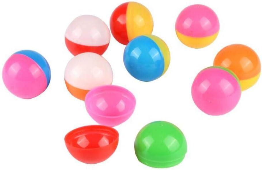 zeenca Bolas de lotería de Tenis de Mesa , Bolas de Bingo de plástico Multicolor