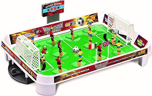 Villa Spielzeug Tischfussball Mini Stadium Soccer Pro–Tischfußball Kickertisch, Mehrfarbig, 1010
