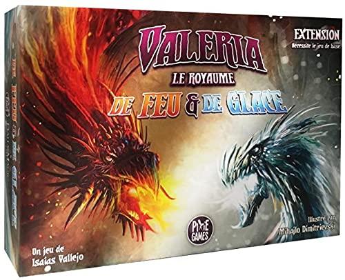 Valeria : Le Royaume – Erweiterung für Feuer und Eis – Französische Version