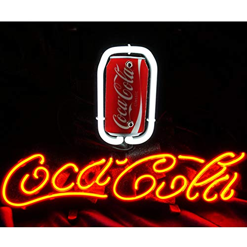 Enjoy Coca Cola Neon Sign,Leuchtschild für Zuhause, Bierbar,Restaurant, Billard, Garage, Fenster, Strand Erholung, Spielzimmer, Reklame