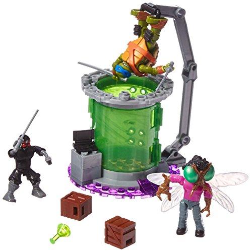 Mega Bloks Teenage Mutant Ninja Turtles Baxter Mutation Lab Play Set