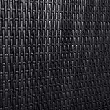 SONGMICS Klapptisch, großer Gartentisch mit Oberfläche aus Polyrattan, klappbarer Campingtisch, Sicherheitsriegel, Terrasse, Koffertisch, Buffettisch 180 x 75 x 74 cm, schwarz GPT02BK - 2