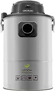 comprar comparacion Cecotec Aspirador de Cenizas Conga PowerAsh 1200 Steel. Gran Potencia, Ultrarresistente, Apto para Cenizas, Carbón y Serrí...