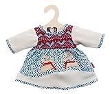 Heless 1251 Winterkleid skandinavisches Design, Größe 28 - 33cm