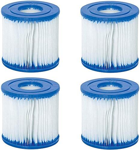 Ersatz-Filter für Bestway VII & Intex Typ D Filter, Pool-Filter, Ersatz-Filterkartusche, 500 Liter Pumpe, Hot Spring Spa Pools.