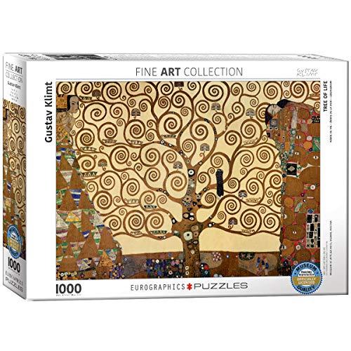 puzzle quadri Eurographics Tree of Life / Gustav Klimt EG60006059 Puzzle