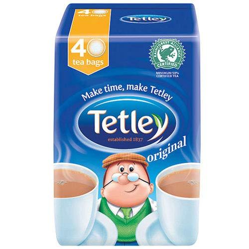 Tetley Original 40 Tea Bags - Pack of 12 x 40