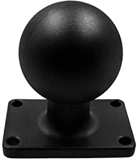 $32 » Marine Aluminum 2.25'' Ball Adapter Base with AMPS Rectangle Plate for All Industry Standard 2.25 inch / 57mm / D Size Soc...