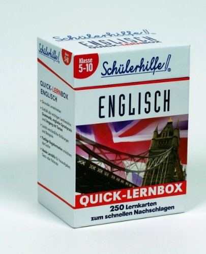 Quick-Lernbox Englisch, Klasse 5-10
