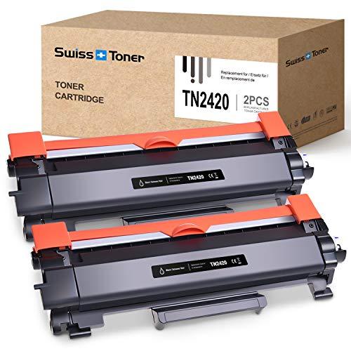 SWISS TONER 2 Pack TN2420...