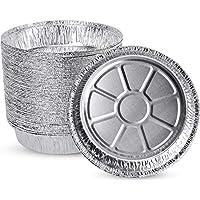 50-Pack Xiafei Aluminum Disposable Oven Safe Foil Pans