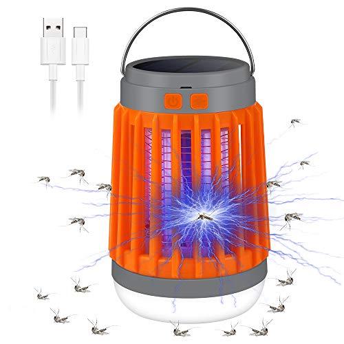 Vivibel - Mosquitero, 3 en 1, lámpara UV, lámpara de camping, lámpara...